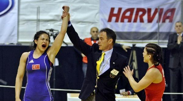 Avrupa Büyükler Güreş Şampiyonasi'nda İkinci Gün...