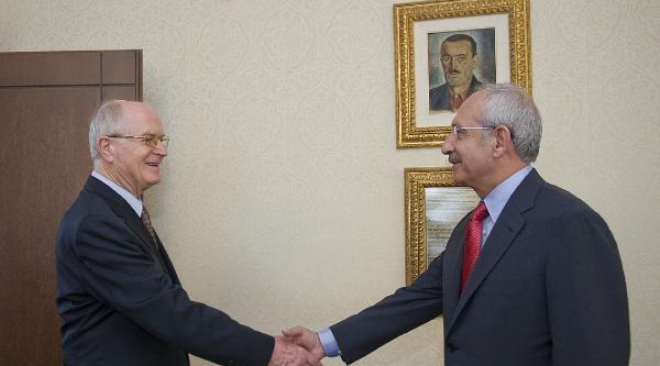 Avrupa Güvenlik Ve İşbirliği Teşkilatı ( Agıt ) Seçim Gözlem Heyeti, Kılıçdaroğlu'nu Ziyaret Etti