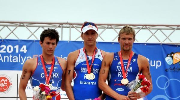 Avrupa Kupası Triatlon Yarışı'nda Heyecan (2)