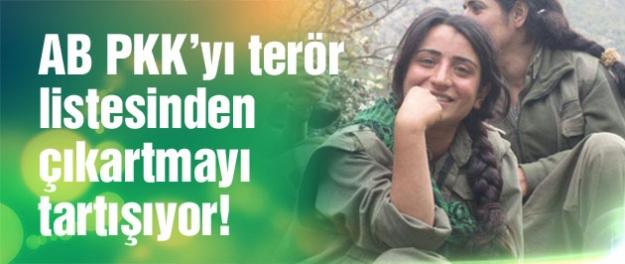 Avrupa'da PKK'yı terör listesinden çıkartalım sesleri!