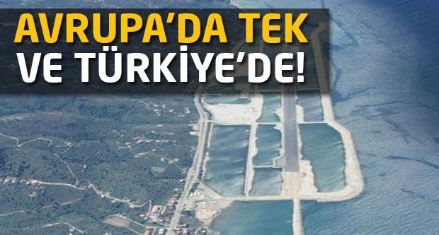 Avrupa'da tek ve Türkiye'de!