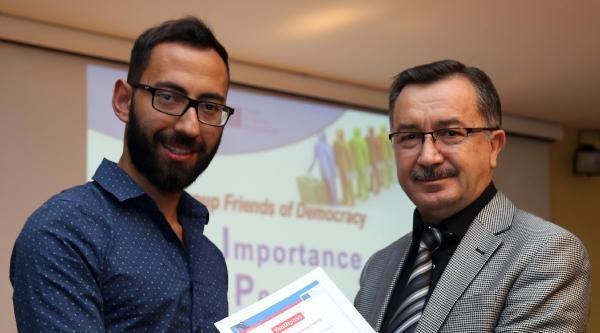 Avrupalı Gençlere Yozgat'ta Eğıtım Verildi