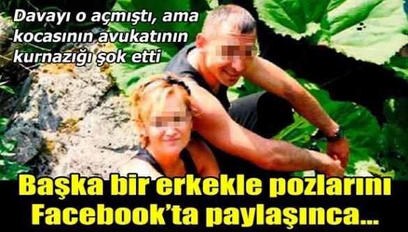 Avukatın kurnazlığı şok etti! Başka bir erkekle pozlarını Facebook'ta paylaşınca...