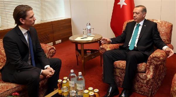 Avusturya Dışişleri Bakanı Kurz: Erdoğan Seçim Kampanyasını Avusturya'ya Taşıdı