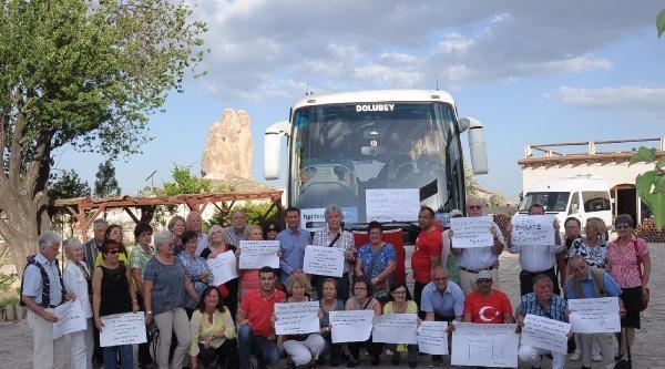 Avusturyalı Turistlerden Soma Şehitlerine Taziye
