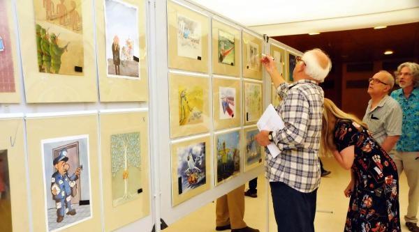 Aydın Doğan Karikatür Yarışması Jürisi Bodrum'da Toplanıyor