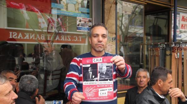 Aydın'da Gülen Fotoğraflı Chp Broşürüne Tepki