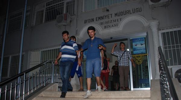 Aydın'da Miting Öncesi 6 Gözaltı