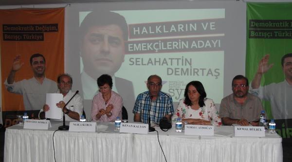 Aydoğan: Demirtaş'ın Adaylığı Heyecan Yarattı
