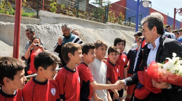 Aykut Kocaman'dan Altınordu'ya Ziyaret