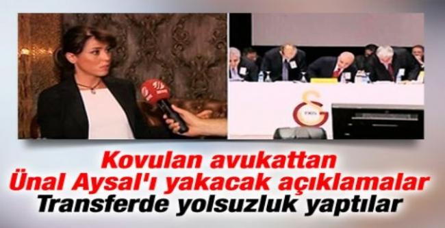 Ayşegül Egemen: G.Saray'da yolsuzluk yapılıyor