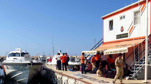 Ayvacık'ta 79 Kaçak Yakalandı