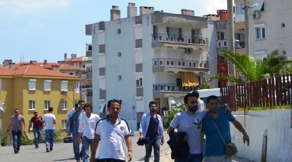 Ayvalık'ta 27 Suriyeli Kaçak Yakalandı
