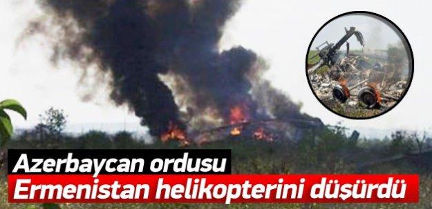 Azerbaycan Ermenistan helikopterini düşürdü!