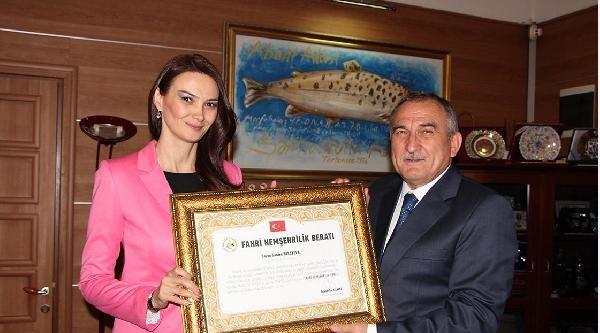 Azerbaycan Milletvekili Bolu'nun Fahri Hemşehrisi Oldu