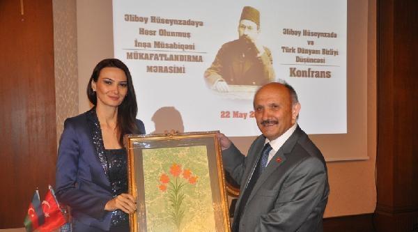 """Azerbaycan'da ''türk Dünyası Birliği Düşüncesi Ve Ali Bey Hüseyinzade"""" İsimli Konferans Düzenlendi"""