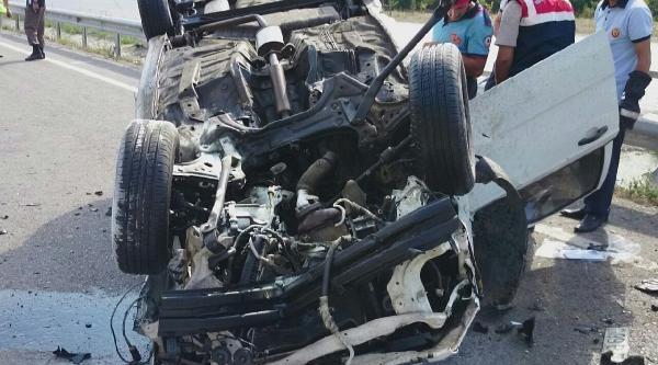 Azeri Polis Samsun'da Kaza Yaptı: 6 Yaralı