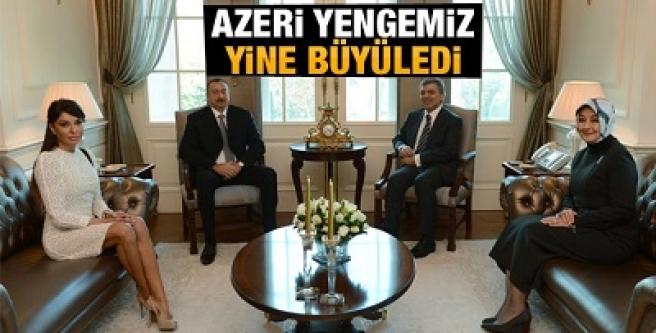 Azeri yengemiz yine büyüledi...