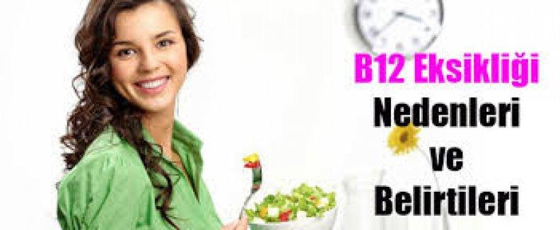 B12 eksikliği depresyon nedeni!