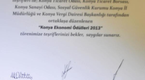 Babacan Ve Davutoğlu'nun Konya Programi Iptal Edildi