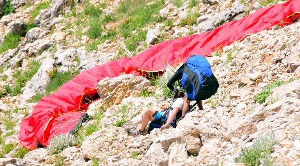 Babadağ'da 2013'te Yaşanan 11 Paraşüt Kazasi Kamerada
