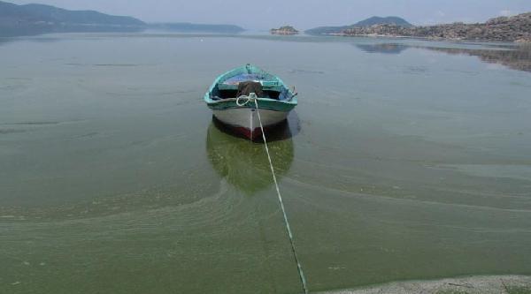 Bafa Gölü Erken Alarm Verdi