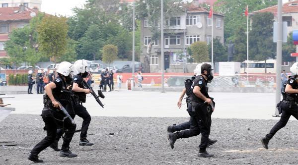 Bağcılar'da Lice Protestosuna Polis Müdahalesi...