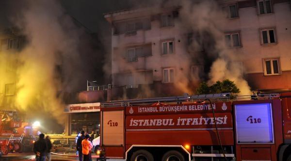 Bağcılar'da Yanan Mağaza 6 Saatte Söndürülebildi