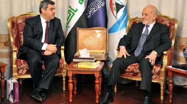Bağdat Büyükelçisi Kaymakçi, Ulusal Ittifak Başkani Caferi Ile Görüştü
