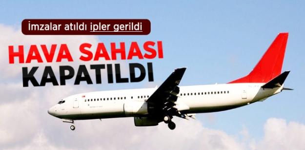 Bağdat, Kuzey Irak Hava Sahasını Türkiye'ye Kapattı!