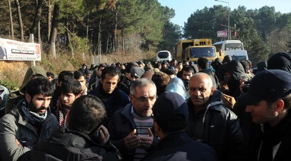 Bahçeköy'De Öğrenciler Arasinda Gerginlik