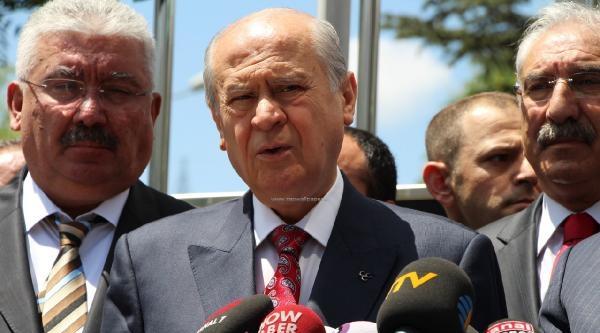 Bahçeli, Bbp Genel Başkanı Destici'yi Ziyaret Etti (2)