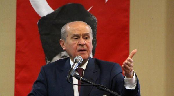 Bahçeli: Erdoğan'ın Seçimlere Girmeye Hakkı Yok