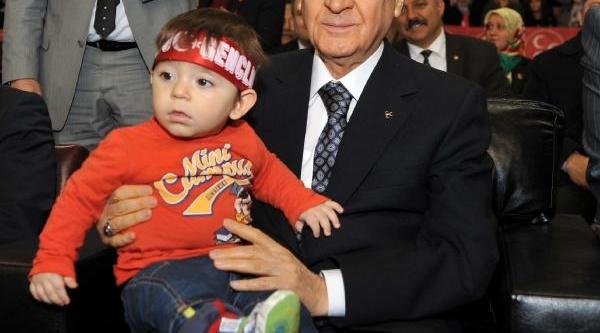 Bahçeli: Erdoğan'in Şeytanla Bile Ortaklik Kuracak Kadar Gözü Dönmüş(3)