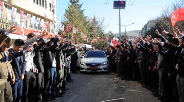 Bahçeli Erzurum'da: Sen Cumhuriyet Dönemine Gelmiş Tehlikeli Zehirsin (2)