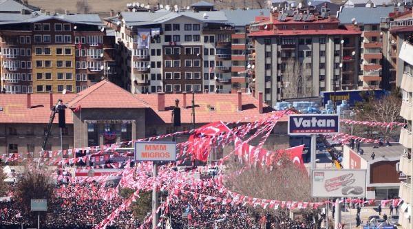 Bahçeli Erzurum'da: Sen Cumhuriyet Dönemine Gelmiş Tehlikeli Zehirsin / Ek Fotoğraf
