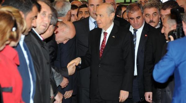 Bahçeli Istanbul'a Geldi, Mhp Il Başkani Başkan Gazetecilere Konuştu