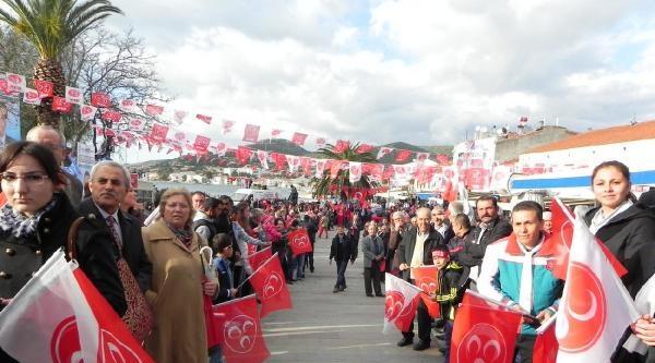 Bahçeli: İzmirliler Akp'yi Çimdirsinler Bakalım Aklanlıyorlar Mı - Ek Fotoğraflar