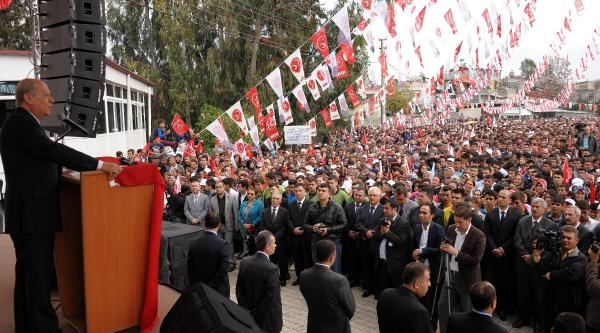 Bahçeli: Sen Önce İmrali Canisi İle Akp Arasındaki İşbirliği Türkiye'yi Nereye Götürecek Onu Açıkla (2)