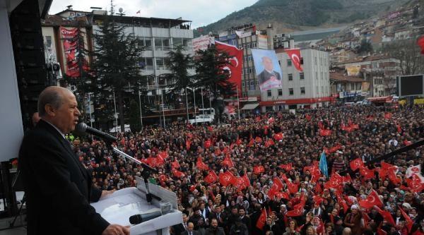 Bahçeli: Toplum, Kızgın Sac Üstünde. Ülkede Felakete Gidersek Erdoğan'ın İzini Dahi Bulamazsınız