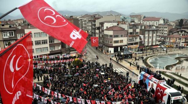 Bahçeli: Toplum, Kızgın Sac Üstünde. Ülkede Felakete Gidersek Erdoğan'ın İzini Dahi Bulamazsınız  (2)