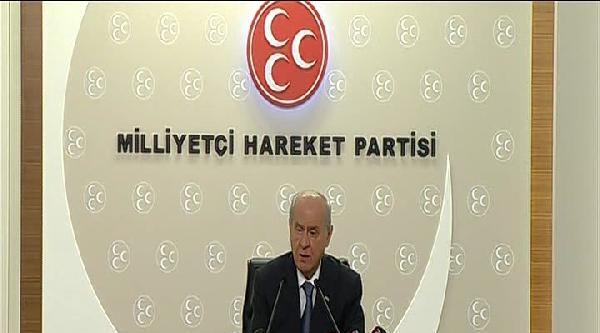 Bahçeli: Türk Askerinden Sonra Türk Polisi De Akp Komplosuna Feda Edilmiştir