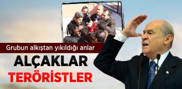 Bahçeli, Türk Bayrağının İndirilmesine Tepki Gösterdi