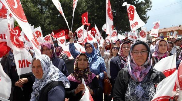 Bahçeli: Türkiye'de Kamplaşma Tırmanıyor (fotoğraflar)