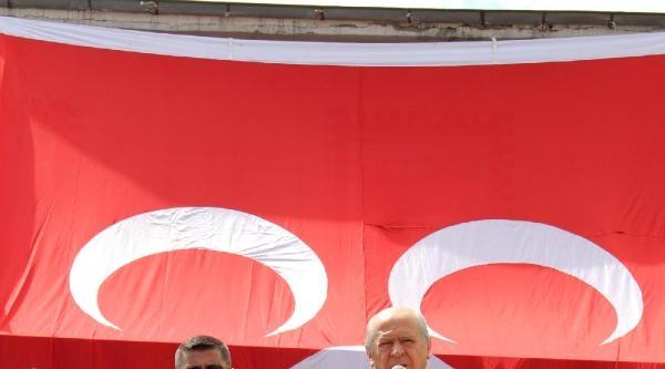 Bahçeli'den Erdoğan'a: 'hasbelkader Başbakan Oldun, Orada Kal'