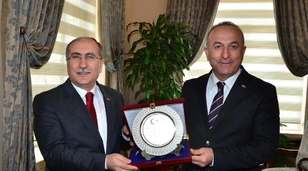 """Bakan Çavuşoğlu, """"ab Sürecinde Gençliğin Hayallerine İhtiyaç Var"""" (2)"""