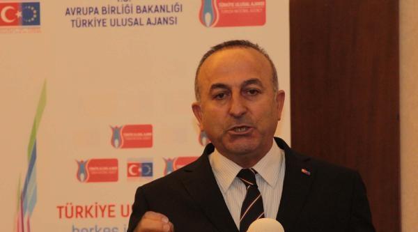 """Bakan Çavuşoğlu, """"ab Sürecinde Gençliğin Hayallerine İhtiyaç Var"""" (3)"""
