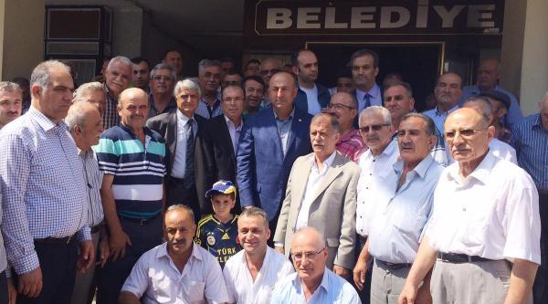 Bakan Çavuşoğlu Akseki'de