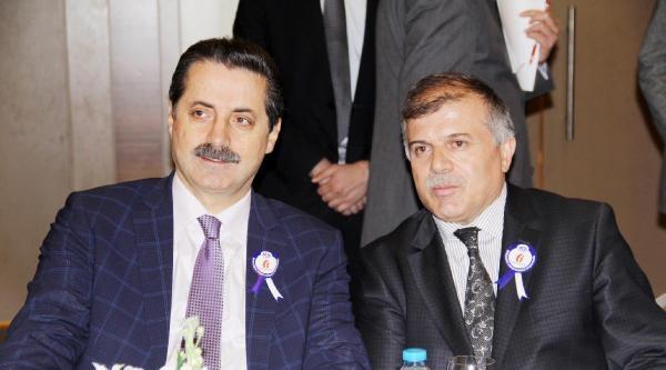 Bakan Çelik, Şanliurfa'da Oda Başkanlarıyla Biraraya Geldi (3)