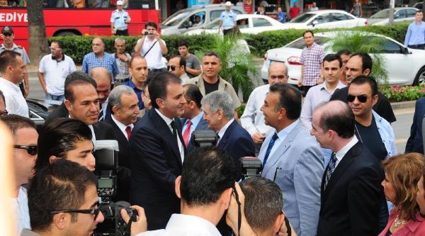 Bakan Çelik'ten Abd'nin Diyarbakır'daki İftar Çadirinin Yıkılmasına Tepki
